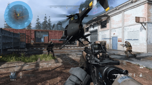 Gameplay Call of Duty Codetos