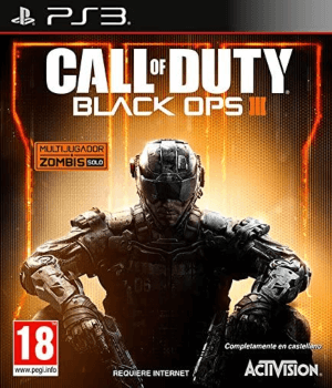 Videojuego Call of Duty Black Ops 3 PS3