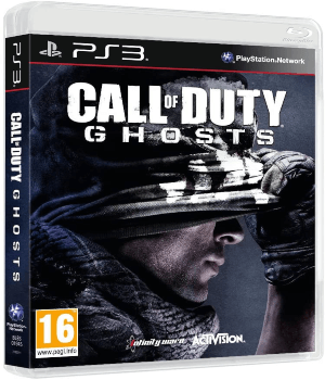 Videojuego Call of Duty Ghosts PS3