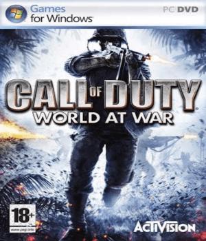 Videojuego Call of Duty World at War PC