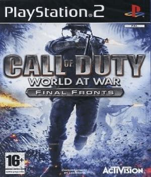 Videojuego Call of Duty World at War PS2