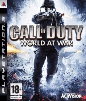 Videojuego Call of Duty World at War PS3