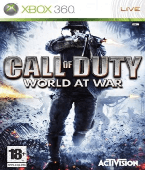 Videojuego Call of Duty World at War Xbox 360