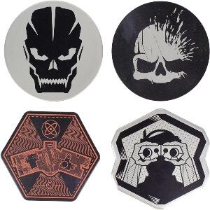 4 posavasos de metal de Call of Duty