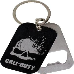 Abrebotellas y llaveros calavera de Call of Duty