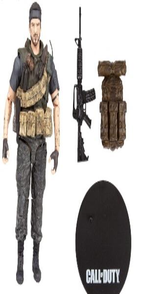 Accesorios de las figuras de Call of Duty