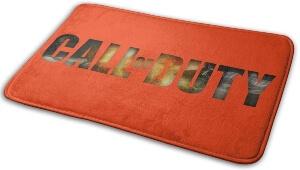 Alfombra de Call of Duty con bordes redondeados