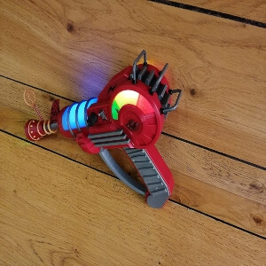 Arma raygun del Call of Duty Zombies