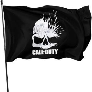 Bandera calavera Call of Duty
