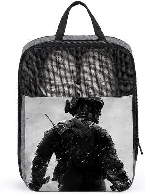 Bolsa para zapatos soldado de Call of Duty