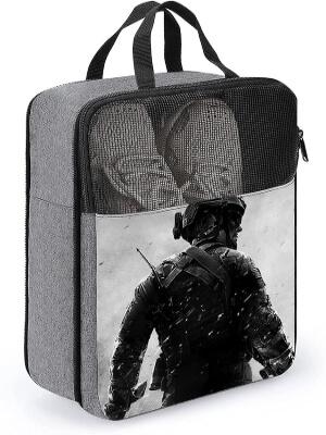Bolsa para zapatos un soldado de Call of Duty