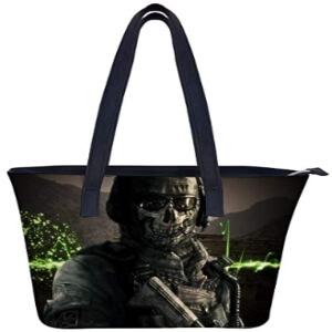 Bolso soldado con mascara Call of Duty
