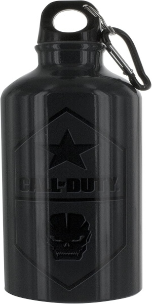 Botellas de agua con tapon y mosqueton Call of Duty