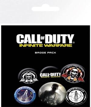 Broches de Call of Duty Infinite Warfare