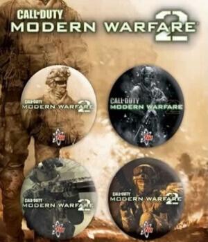 Broches de Call of Duty Modern Warfare 2