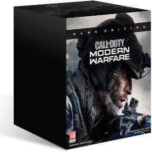 Caja de coleccionismo dark edition de Call of Duty Modern Warfare