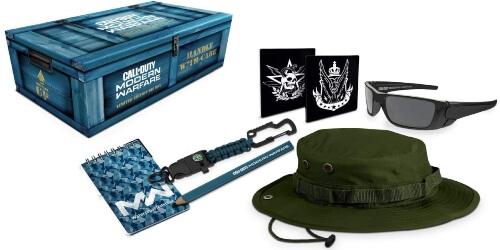 Caja de coleccionismo del Call of Duty Modern Warfare