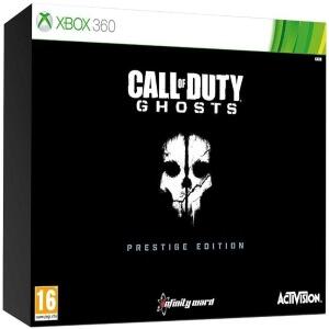 Caja de coleccionismo prestige edition de Call of Duty Ghosts