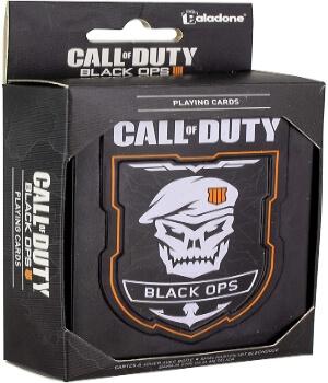 Caja de las cartas de Call of Duty Black Ops 4