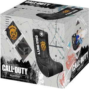 Caja de las sillas gaming de Call of Duty para el suelo