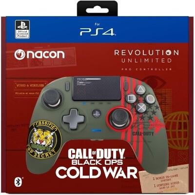 Caja de los mandos de Call of Duty