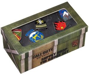 Caja de los pins de Call of Duty World War 2