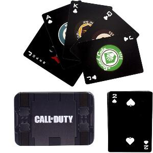 Caja y cartas Call of Duty