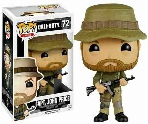 Cajas de los funko pops de Call of Duty