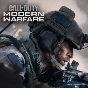 Calendario Call fo Duty Modern Warfare