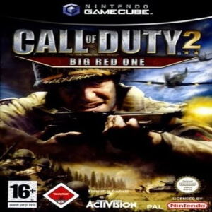 Call of Duty 2 Big Red One para Nintendo Game Cube
