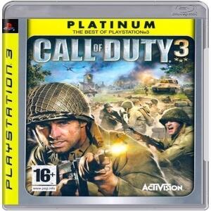 Call of Duty 3 para Playstation 3