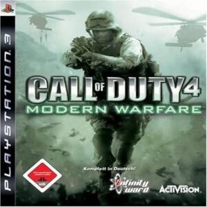 Call of Duty 4 Modern Warfare para Playstation 3