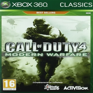 Call of Duty 4 Modern Warfare para Xbox 360