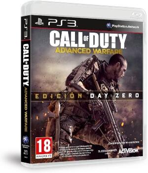 Call of Duty Advanced Warfare edicion Day Zero PS3