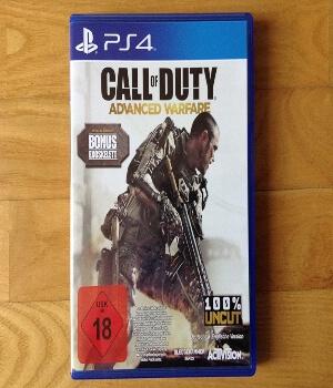Call of Duty Advanced Warfare edicion especial PS4