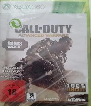 Call of Duty Advanced Warfare edicion especial Xbox 360