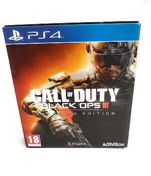 Call of Duty Black Ops 3 edicion Hardened PS4