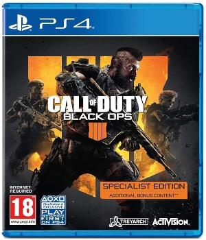 Call of Duty Black Ops 4 edicion especial Specialist PS4