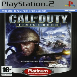Call of Duty Finest Hour para consola Playstation 2