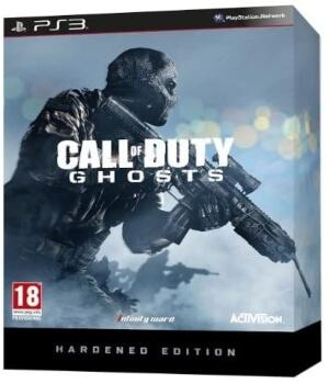 Call of Duty Ghosts edicion Hardened PS3