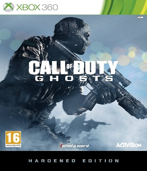 Call of Duty Ghosts edicion Hardened Xbox 360