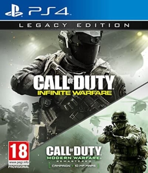Call of Duty Infinite Warfare edicion especial Legacy PS4