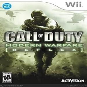 Call of Duty Modern Warfare Reflex para Wii