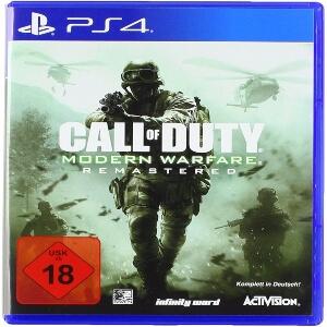 Call of Duty Modern Warfare Remastered para consola Playstation 4