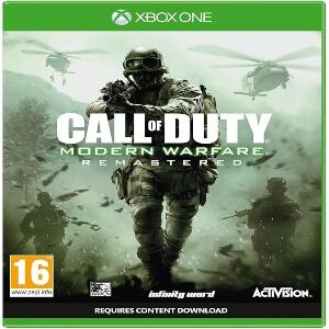 Call of Duty Modern Warfare Remastered para consola Xbox One