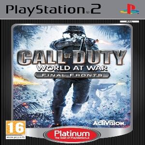 Call of Duty World At War Final Fronts para Playstation 2