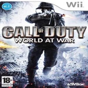 Call of Duty World At War para Wii