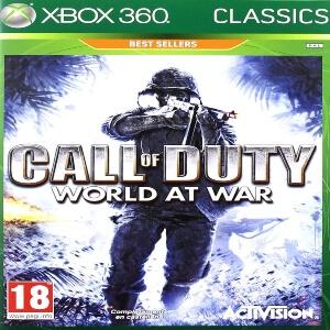 Call of Duty World At War para Xbox 360