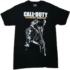 Camiseta Call of Duty Advanced Warfare manga corta