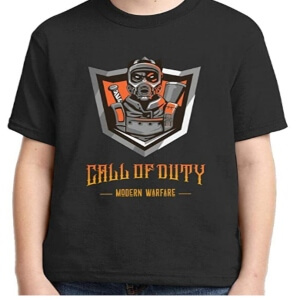 Camiseta Call of Duty Modern Warfare para niños